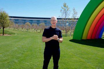 Tim Cook apple keynote 2021