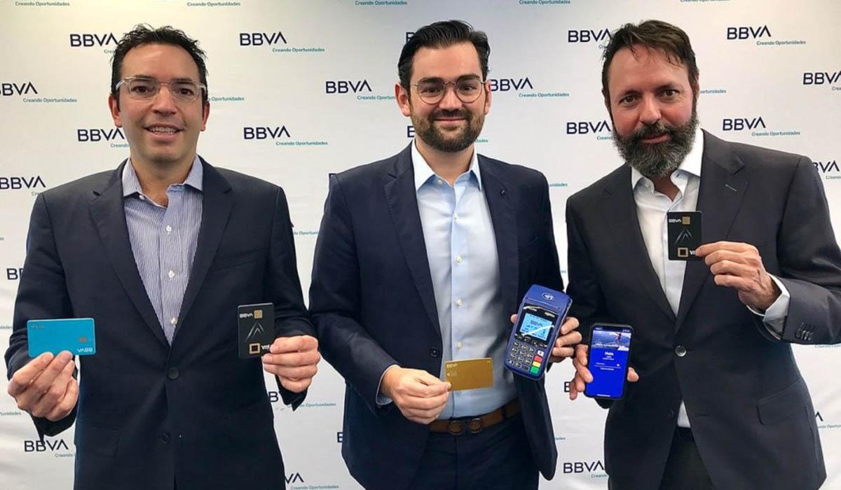 BBVA México Primer banco en lanzar tarjetas con tecnología biométrica en Latinoamérica